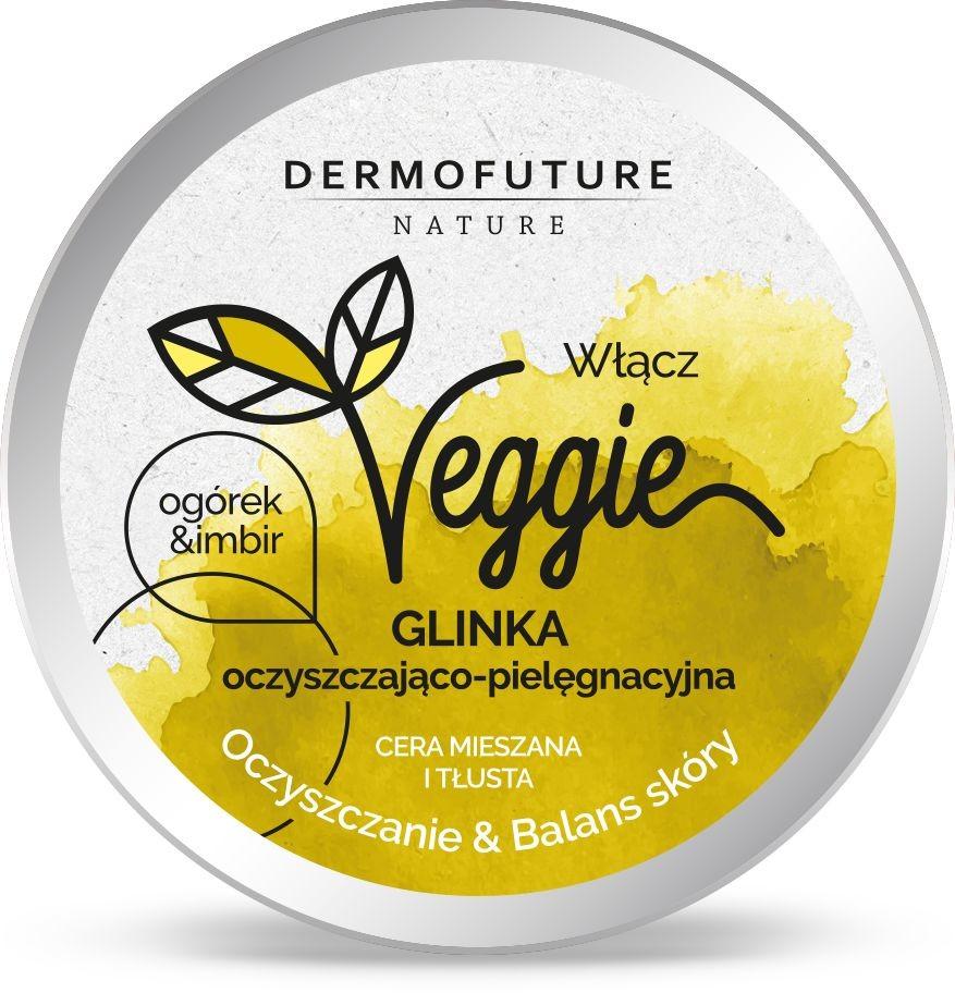 Dermofuture DermoFuture Veggie Glinka Oczyszczająca Ogórek i Imbir 150ml DERF-6155
