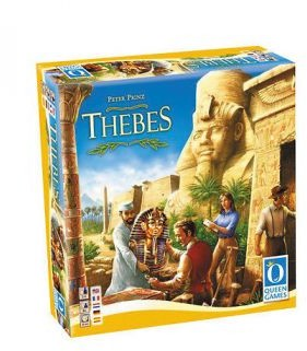 Queen Games THEBES the tomb raiders