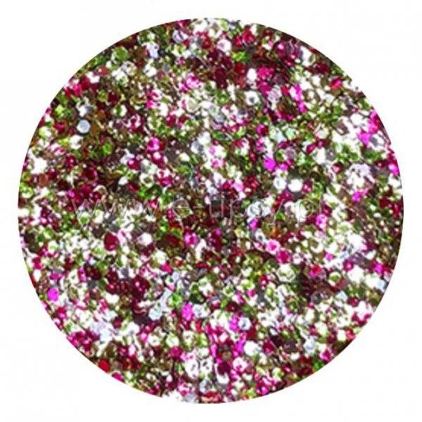 Vanity Brokat Multicolor Hexagon Exclusive 07 8606