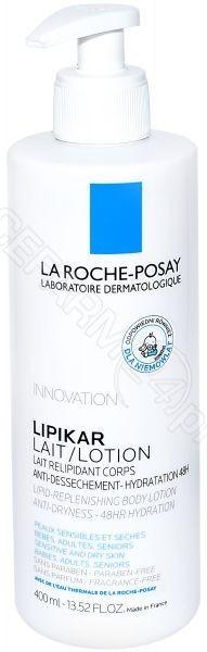 La Roche-Posay LA POSAY La Posay Lipikar Lait emulsja uzupełniająca poziom lipidów 400 ml