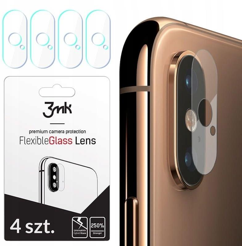 3MK Szkło Hybrydowe Fg Camera Lens iPhone Xs Max