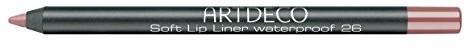 Artdeco Soft Lip Liner Waterproof unisex, odporny na wodę konturówki pióro kolor: 26 Sensual z drewna tekowego, 1er Pack (1 X 1 G) KAF4826
