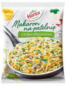 HORTEX Makaron na patelnię z sosem szpinakowym