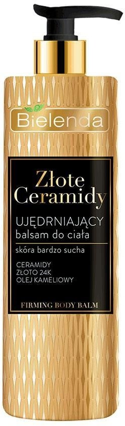 Bielenda Złote Ceramidy ZŁOTE CERAMIDY Ujędrniający balsam do ciała 400 ml