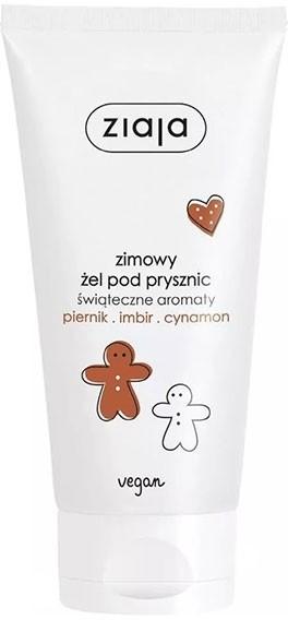 Ziaja Świąteczne aromaty żel pod prysznic piernik imbir cynamon 160ml