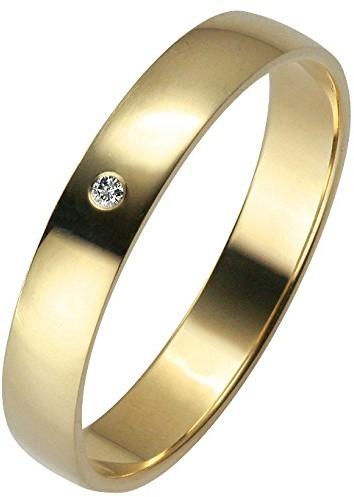 Trauringe Liebe hoch zwei Obrączki ślubne miłość wysokiej dwoma pierścionek damski 035003214050, 14 karatów (585) żółte złoto 3500321405054