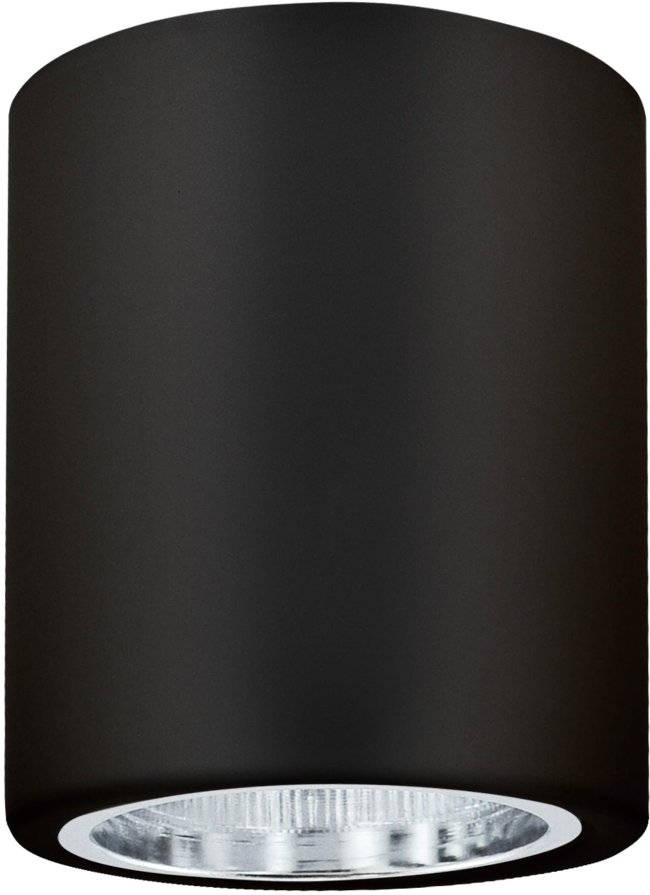 Polux Oprawa natynkowa szer 9,8cm metalowa okrągła JUPITER MD-3011 czarna SANICO 311696