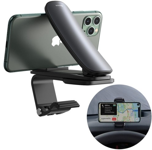 Baseus Mouth Car Pro   Uchwyt samochodowy na deskę poziomy GPS SUDZ-A01