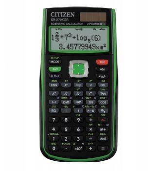 Citizen Kalkulator naukowy SR-270XGR green SR-270XGR