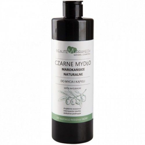 Savon Noir Beaute marrakech Naturalne czarne mydło żel pod prysznic 400ml 5AF6-53342