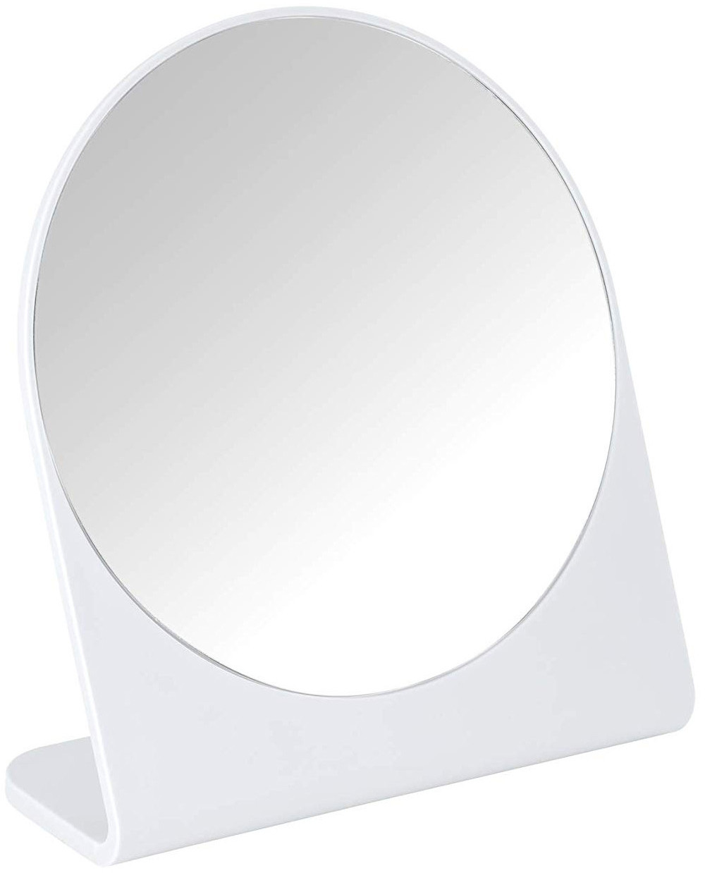 WENKO Lusterko powiększające Marcon stojące 17 cm kolor biały B07NW568GJ