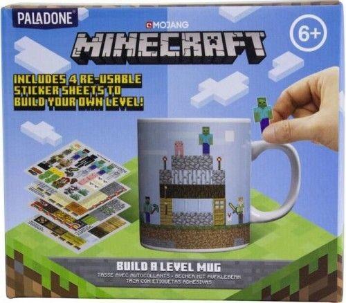 Microsoft Kubek Minecraft + 4 arkusze naklejek