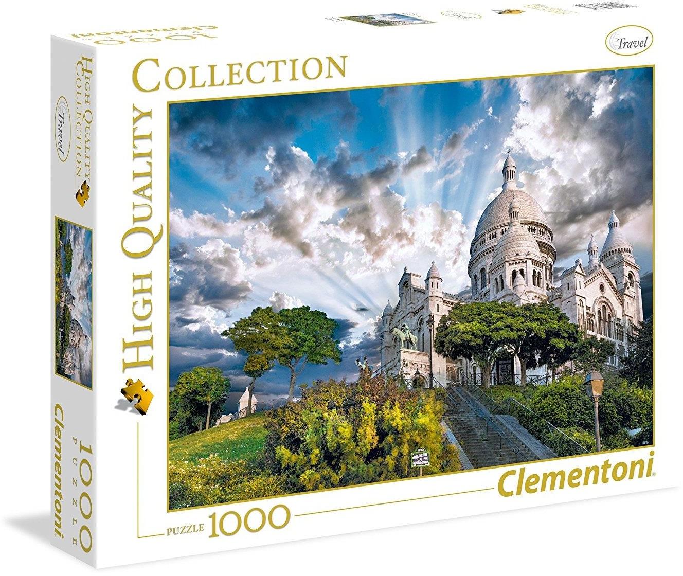 Clementoni 1000 ELEMENTÓW Montmartre 39383