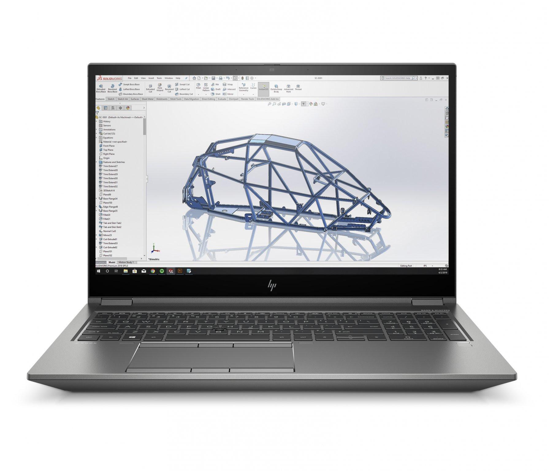 HP ZBook Fury 15 G7 119X9EA