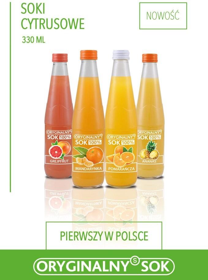 Oryginalny Sok Sok jablko/pomarancza/marchew 330ml 18649-uniw