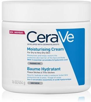 CeraVe CeraVe Moisturizers krem nawilżający do twarzy i ciała do skóry suchej i bardzo suchej 454 g