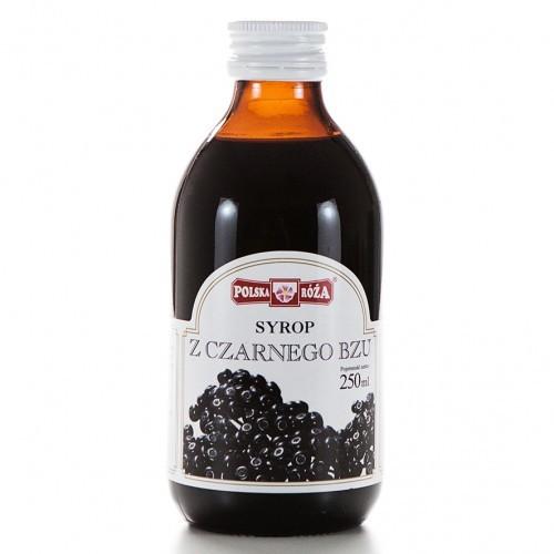 Polska Róża Syrop z czarnego bzu 250 ml POLROZA8