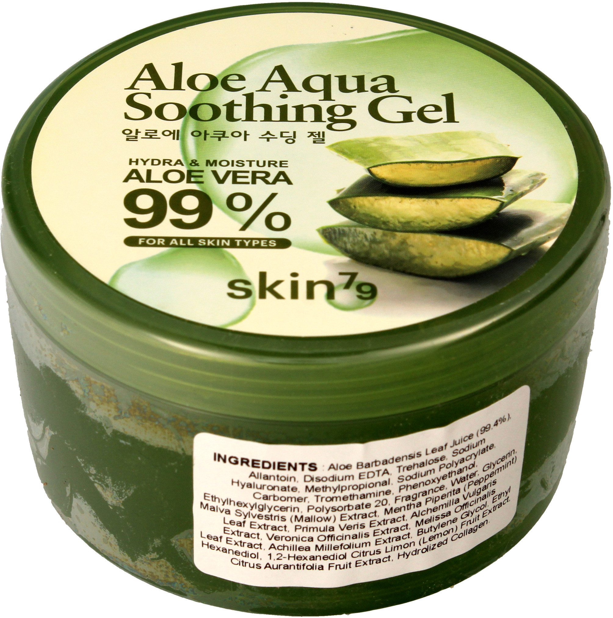 Skin79 Skin79 Aloe 99% Aqua żel łagodzący aloesowy 300g