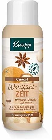 Kneipp kremowy płyn do kąpieli, dobre samopoczucie (1 x 400 ml)