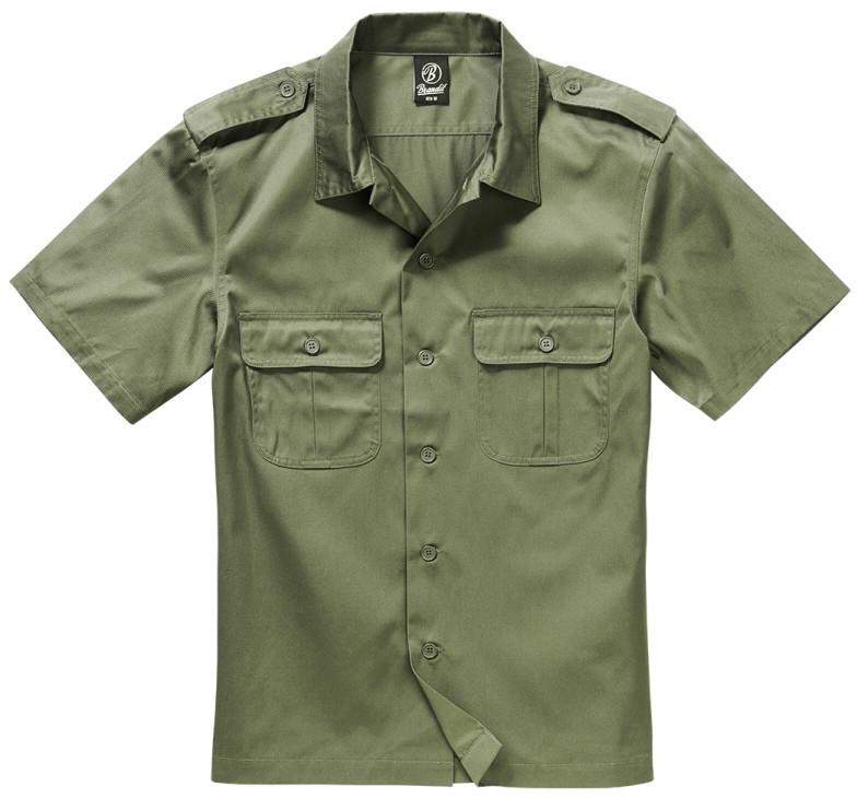 Brandit NIEMCY Koszula US Hemd 1/2 Arm Olive (4101.1) 4101.1