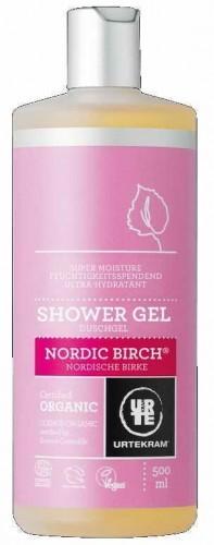 Urtekram Żel pod prysznic Nordycka Brzoza BIO 500 ml