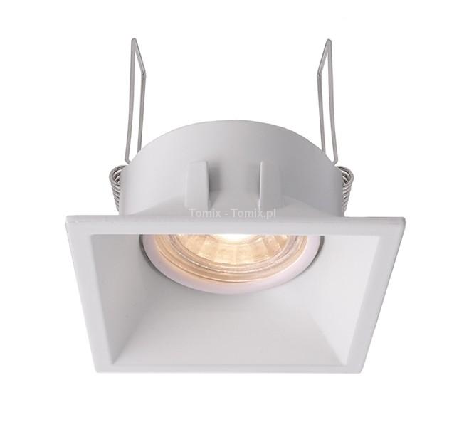 Tomix.pl Lampa do wbudowania Auva square kol biały D110006)