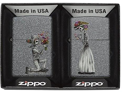 Zippo 60.002.305 Day Of Dead Skulls zapalniczka, edycja wiosna 2016, iron stone 28987