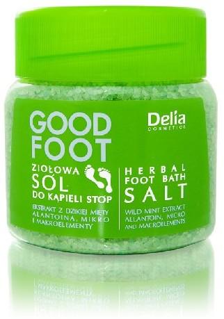 Delia Cosmetics Good Foot Ziołowa sól do kąpieli 100ml
