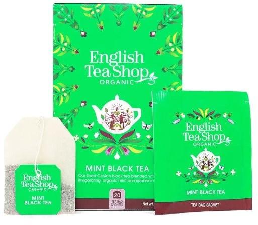English Tea Shop English Tea Shop Mint Black Tea - 20 saszetek BRAK FOTO