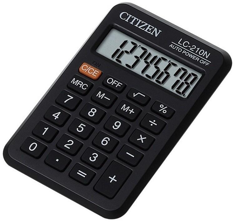 Citizen Kalkulator kieszonkowy 8-cyfrowy