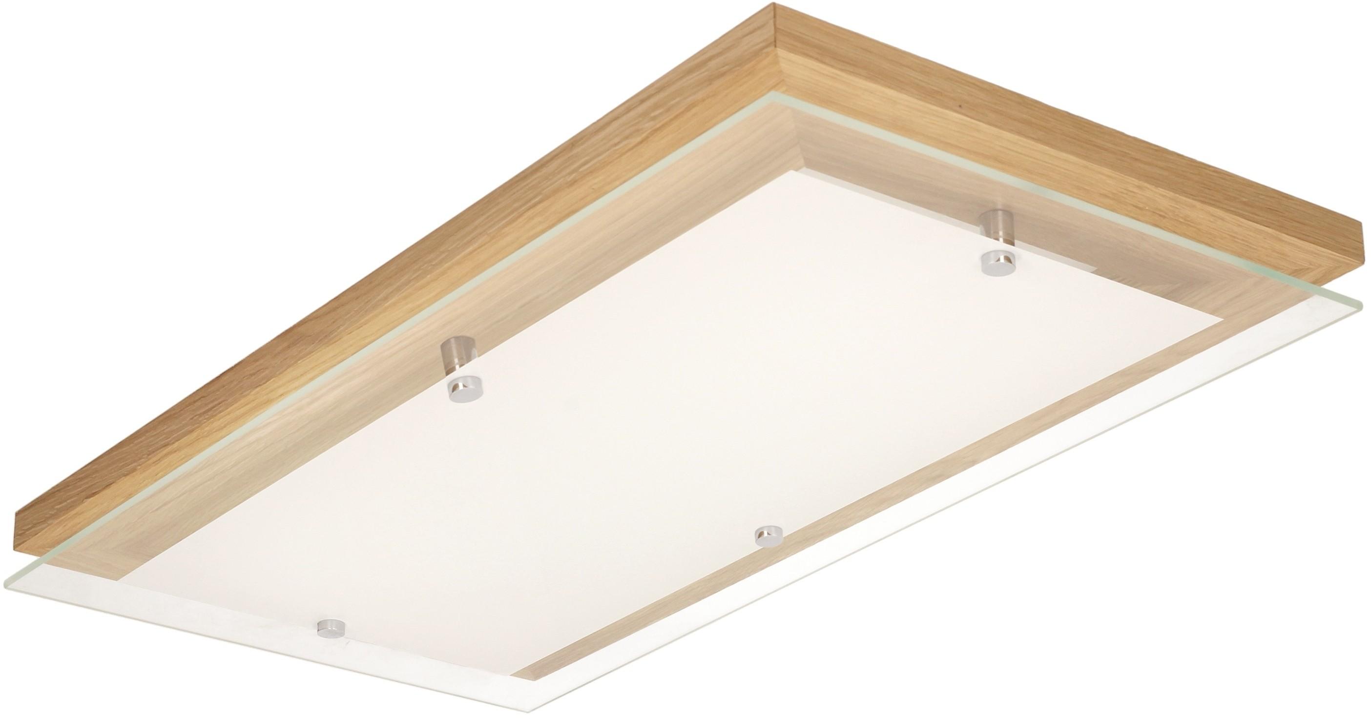 Spotlight FINN plafon LED 24W z funkcją ściemniania dąb 4132970