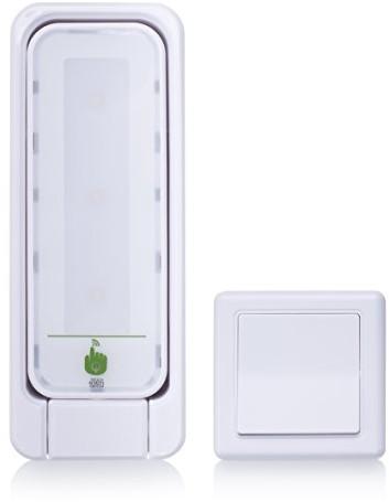 SMART LIGHT SMART, lampka LED Light Touch, ausrichtbar z dodatkowym przełącznik DIP zasilanie bateryjne, 0,3W, 23LM, ciepły biały 7000.063 7000.063