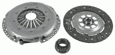SACHS SPRZĘGŁO KPL AUDI A6 A4 VW PASSAT 1.9 TDI AJM 3000 844 701