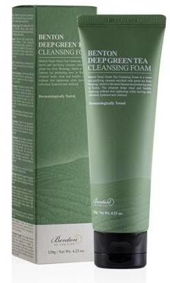 Benton Benton Deep Green Tea Cleansing Foam Odświeżająca pianka do mycia twarzy 120g 56060-uniw