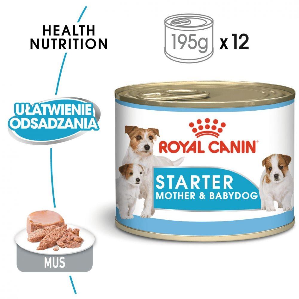 Royal Canin Zestaw Starter Mousse Mother & Babydog 195g