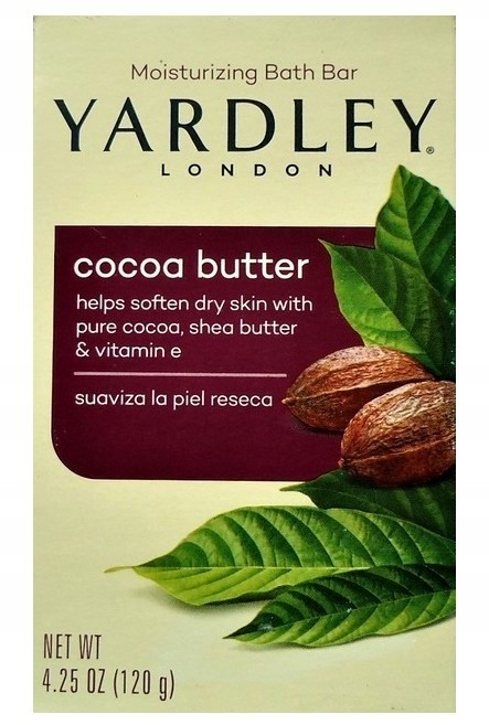 Yardley Mydło Cocoa Butter 120g Anglia)