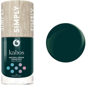 Kabos Cosmetics Lakier do paznokci Simply 08 Green Forest, 10 ml, 6743-423C1