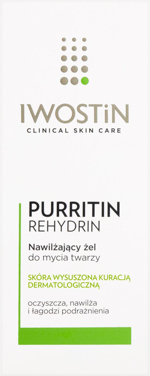 Iwostin Purritin Rehydrin, nawilżający żel do mycia twarzy, 150 ml Duży wybór produktów | Darmowa dostawa od 199.99zł | Szybka wysyłka do 2 dni roboczych! | 7081697