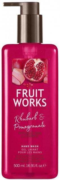 Grace Cole Fruit Works Hand Wash Rabarbar & Granat 500ml 81221-uniw