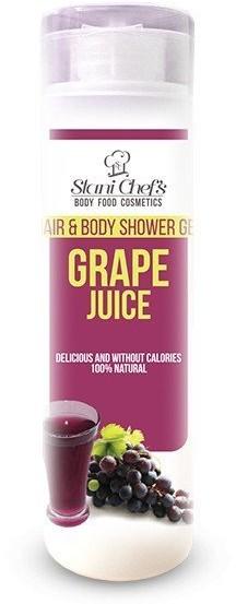 Hristina Hristina Naturalny żel pod prysznic do ciała i włosów sok winogronowy 250 ml