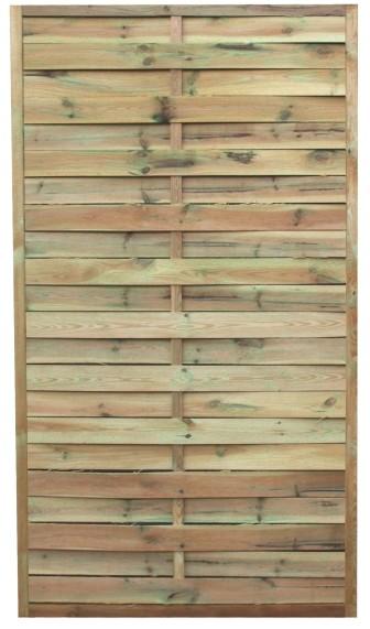 Płot lamelowy Bryza 180 x 90 cm