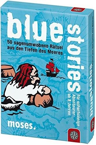 Moses moses. Black Stories Junior Blue Stories   50sagenumwogene Rätsel   Das Rätsel gra w karty dla dzieci