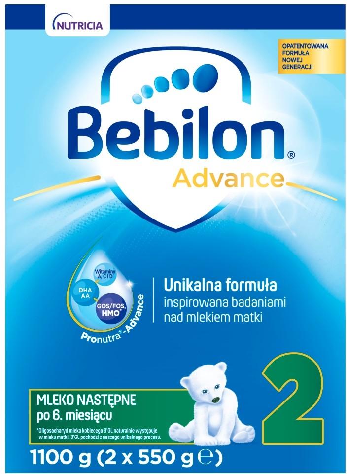 Bebilon NUTRICIA CUIJK B.V Advance 2 1100 g