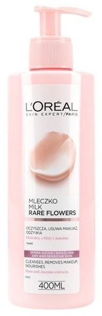Loreal Rare Flower Mleczko do demakijażu 400ml