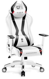 Diablo Chairs Fotel X-Horn 2.0 Kids Biało-Czarny