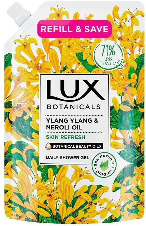 Lux Botanicals Lux Botanicals Żel pod prysznic odświeżający Ylang Ylang & Neroli Oil  700ml - zapas