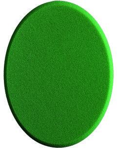 Sonax gąbka do polerowania w kolorze zielonym 160 (medium) - StandardPad - 1 Sztuka 0