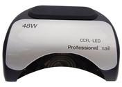 Beauty System Lampa LED + CFL do paznokci 48W CFL06 Czarna BSCFL06/BLACK