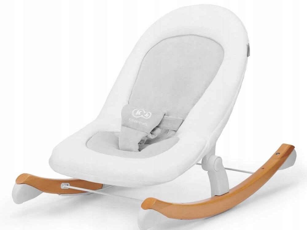 KinderKraft Finio leżaczek, bujaczek 2w1 | White