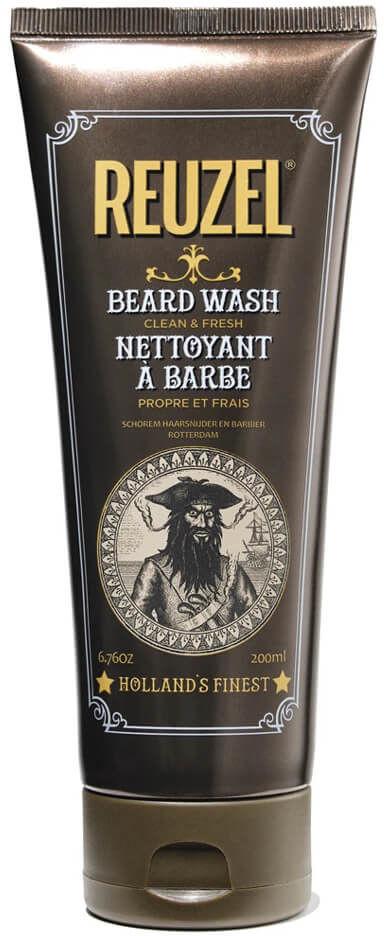 Reuzel Reuzel Beard Clean&Fresh Szampon nawilżająco-zmiękczający do brody i wąsów dla mężczyzn 200ml 17164